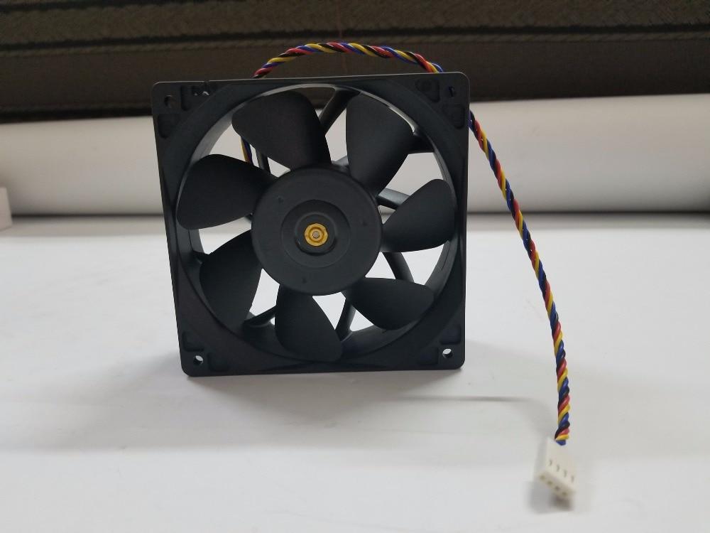 6000 RPM Asic Minatore Ventola di Raffreddamento, 12 centimetri PWM della Ventola di raffreddamento per AntMiner S9/T9 +/L3 +/D3/A3/V9/ z9 Mini/L3 + +/S9i/S9j/DR3/E3/X3/Z9 WhatsMiner M3