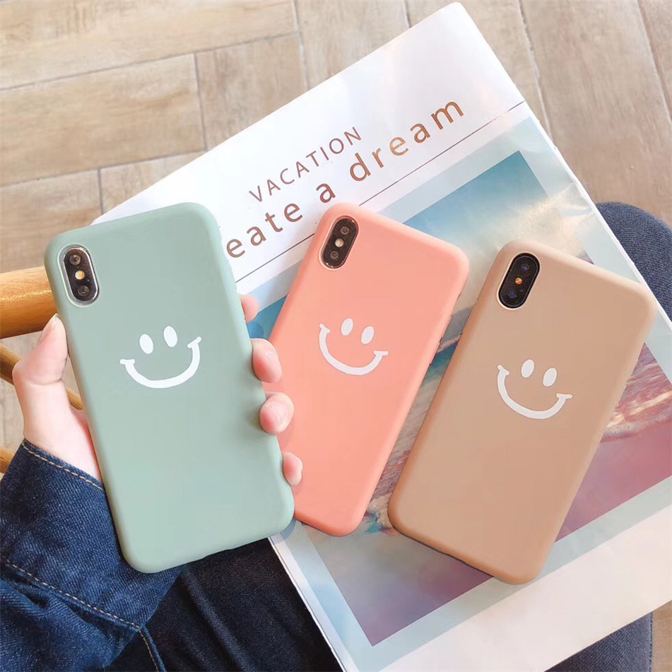 Funny Milk Tea Drink Case For iPhone XS XR Xs Max X Soft Phone Cases for iphone 6 6S 7 8 Plus TPU Silicone Back Cover