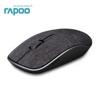 2017 New Rapoo Vải Optical Mouse Wireless USB Chơi Game với Mềm Bọc Vải Siêu Mỏng Xách Tay Cho Máy Tính Xách Tay Máy Tính