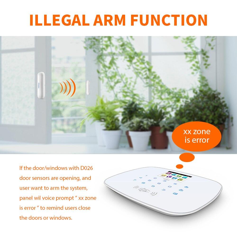 KERUI W193 3G PSTN LCD Smart Alarm Alarmanlagen Sicherheits Hause Alarma GSM RFID IOS Android APP Steuerung Drahtlose WIFI alarm Systeme - 3