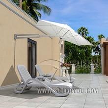 2.2 meter duplex sun umbrella patio