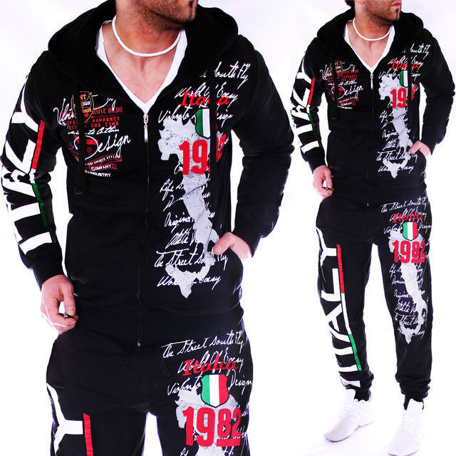 ZOGAA Mens Tracksuit Casual Sweatsuits Men 2 Piece Set Outfits Sportswear Tops and Pants Mens Matching Set Workout Track Suit