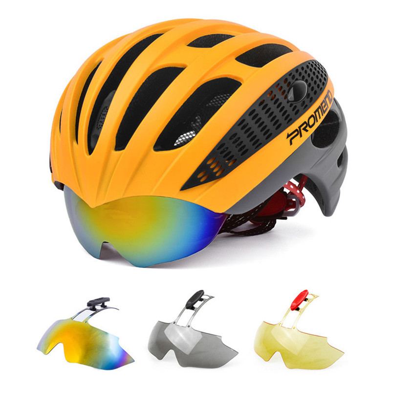 Adult Sports Carbon Bicycle Cycling Skate Helmet Mountain Bike Helmet Bicycle Helmet Casco Mtb Cycling Helmet With Lens #2A16 2018 anima 27 5 carbon mountain bike with slx aluminium wheels 33 speed hydraulic disc brake 650b mtb bicycle