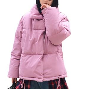 Image 5 - New Women Winter Coat Female Warm Down cotton jacket Womens Korean Bread service Wadded Jackets parkas Female jacket coats A941