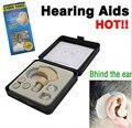 Detrás de la Oreja de Sonido Del Amplificador de Audífonos Mini Tamaño Estupendo Potenciador de Sonido