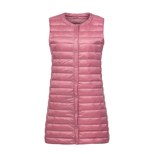 Image 4 - NewBang מותג קל במיוחד למטה אפוד נשים ארוך אפוד קל Windproof חם חזייה נשי למטה מעיל ארוך Slim ללא שרוולים