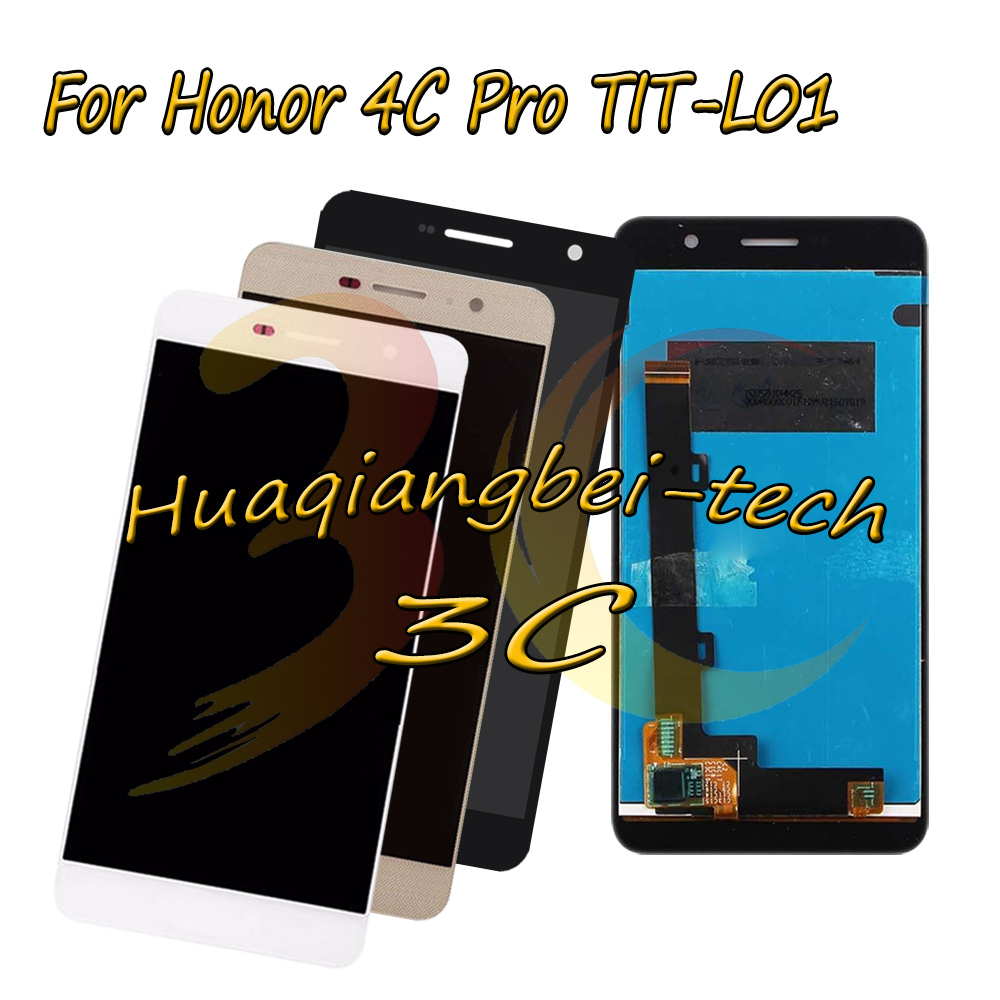 New 5.0 For Huawei Honor 4C Pro TIT-L01 Full LCD DIsplay + Touch Screen Digitizer Assembly 100% Tested With Tracking NumberNew 5.0 For Huawei Honor 4C Pro TIT-L01 Full LCD DIsplay + Touch Screen Digitizer Assembly 100% Tested With Tracking Number