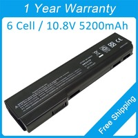 6 Cell Laptop Battery For Hp EliteBook 8460p 6360b 6565b 628666 001 628670 001 HSTNN CB2F