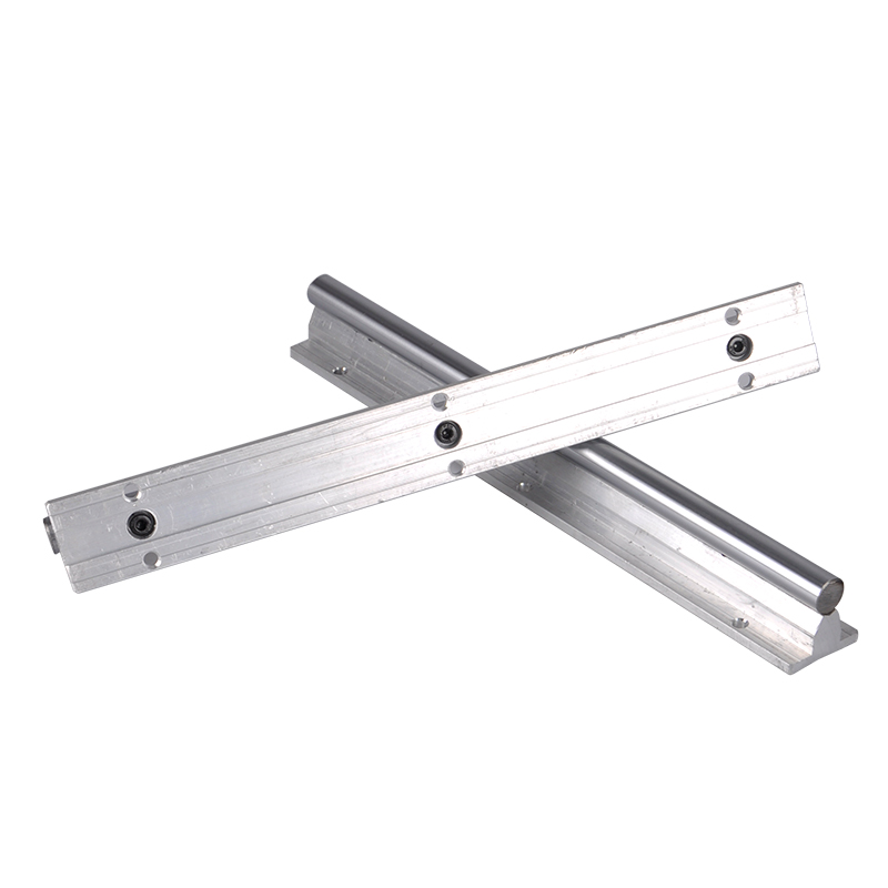 12MM Linear Rail Guide SBR12 200mm 2pcs Linear Guide 4pcs SBR12UU Linear Bearing Blocks Slide For CNC XYZ 3D Printer Part Tools