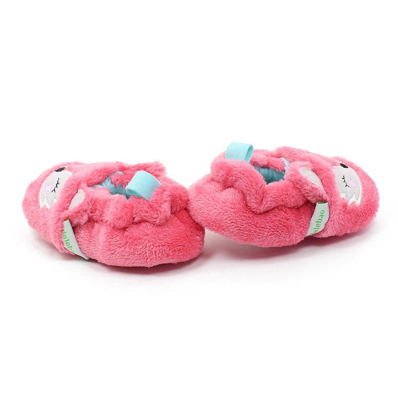 Delebao New Design Schöne Pink Fox Muster Slip-on Gummisohle Unisex - Babyschuhe - Foto 5