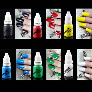 Image 3 - OPHIR 12สีA Irbrushหมึกสำหรับเล็บ30มิลลิลิตร/ขวดเล็บจิตรกรรมหมึกพิมพ์เม็ดสีสดใส สีA Irbrushingเล็บTools_TA100