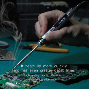 Soldering-Iron Mini Ts100 65w Programmable Digital Electric with BC2 Lcd-Display Stylish