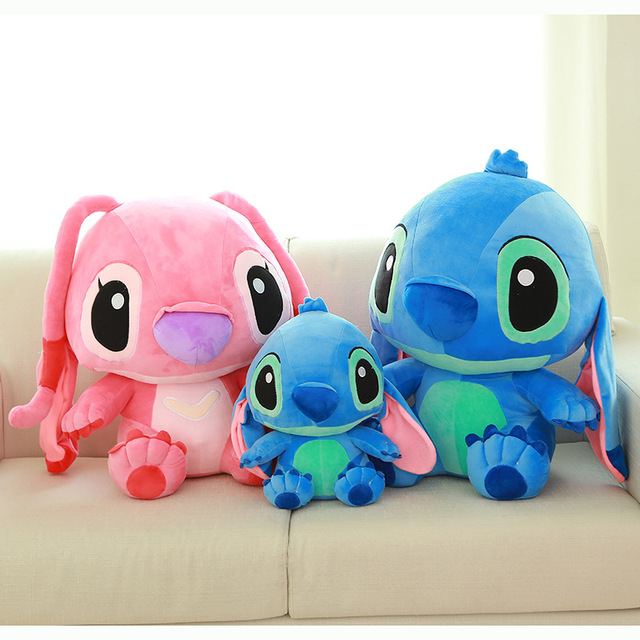 Super Soft Interstellar toys Cute Lovely Stuffed Stich Plush  Doll Baby Toys Home Decor Pillows Gift for Kids Children 1pc11.8in