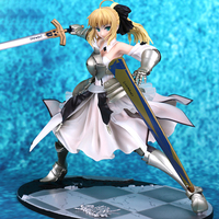 1/7 Scale Fate/unlimited Codes Anime Action Figure Saber Lily The Everdistant Utopia Avolon Collectible PVC Girl Action Toy