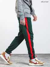 high quality 2017 Printing Contrast Color Jogger Elastic Waist  joggers Full Length Pants Men hip hop Casual sweatpants