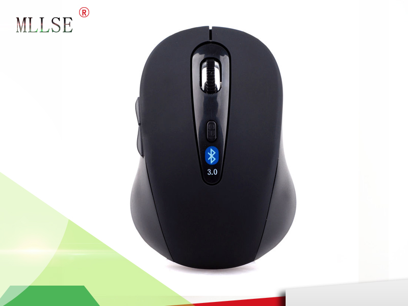 Wireless Mini Bluetooth 3.0 Optic 1600 DPI Mouse Black for Android Tablet Win 7