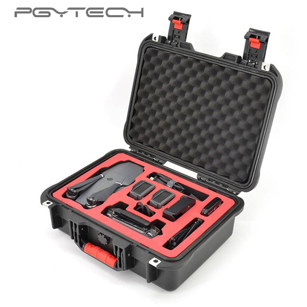PGYTECH safety carrying case for DJI Mavic Pro&Mavic Pro Drone Accessories Waterproof Hard EVA foam Carrying Bag