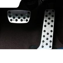 lsrtw2017 stainless steel car accelerator pedal for lexus es200 es260 es300h 2018 2019 2020