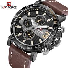 Nuevos relojes de marca de lujo para hombre, relojes deportivos NAVIFORCE para hombre, reloj de pulsera de cuarzo resistente al agua, reloj para hombre, reloj Masculino