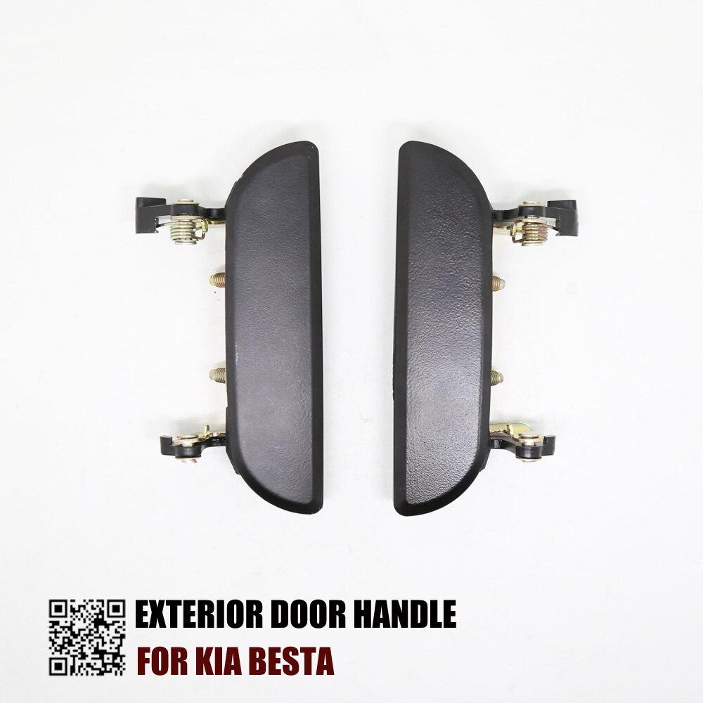 Genuine Kia Parts 82660 FD010XX Exterior Passenger Side Front Door Handle