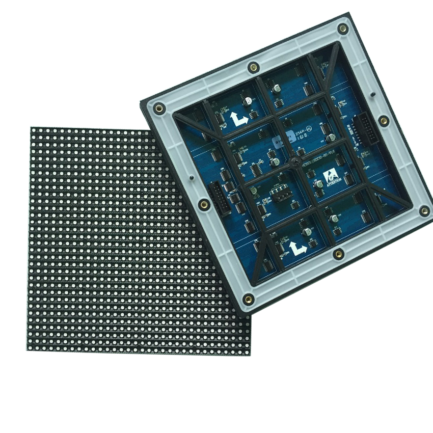 P6 outdoor waterproof SMD3535 RGB 3 in1 full color video LED display screen module 32 x 32 pixels led display board