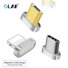 OLAF Magnetic Cable Plug For iphone 8 7 6 5 S Fast Charger C