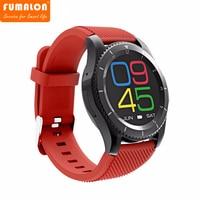 No. 1 G8 Original Bluetooth 4.0 Smartwatch SIM Chamada Lembrete Mensagem Monitor de Freqüência Cardíaca relógio Inteligente Para Android Apple
