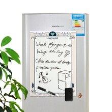 A3 Magnetische Kühlschrank whiteboard Aufkleber Abnehmbare Löschen Graffiti Schreiben Arbeit Plan Zu tun liste Menü Nachricht Erinnerung Hinweis Bord
