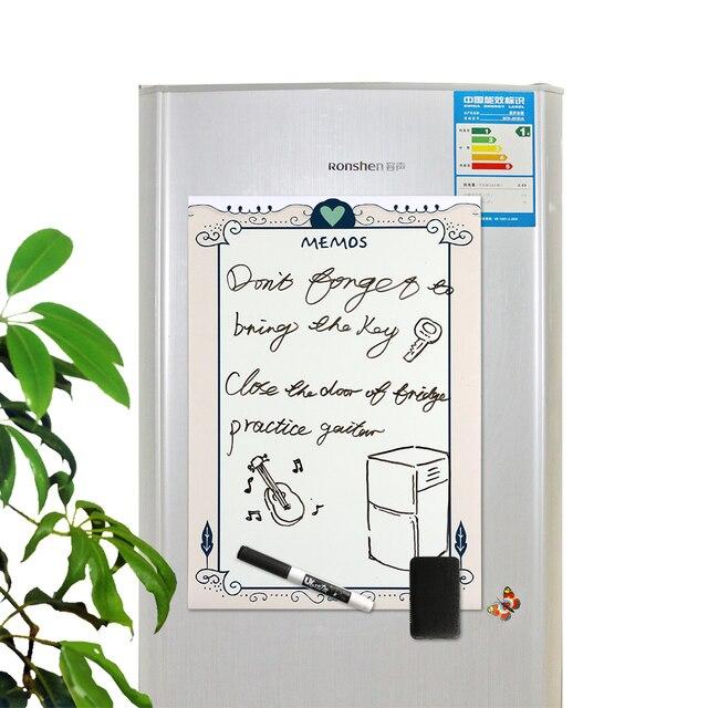 A3 magnetyczne naklejki na lodówkę tablica wymienna wymaż Graffiti pisanie Plan pracy do zrobienia lista Menu wiadomość z przypomnieniem notatka