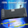 "JIGU Frete grátis A1322 Bateria Do Laptop Original Para APPLE MacBook Pro 13 ""md212 md313 md101 A1278 mb990 mb991 mc700 mc374"