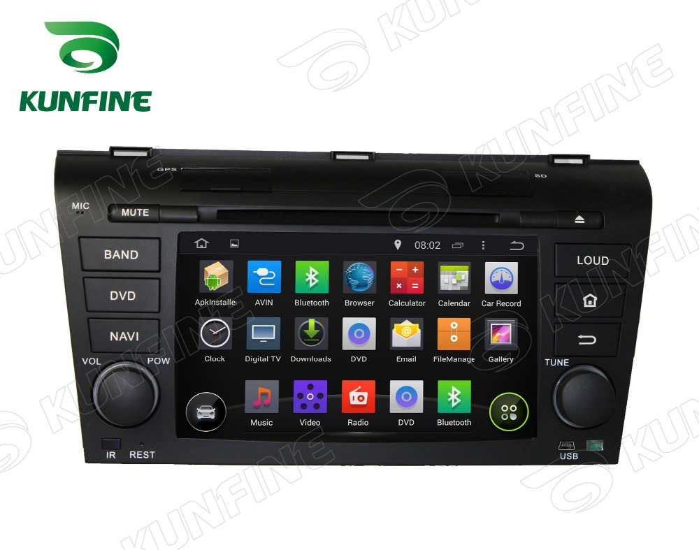 Octa Core 2GB RAM Android 6.0 Car DVD GPS Navigation <font><b>Multimedia</b></font> Player Stereo for <font><b>Mazda</b></font> <font><b>3</b></font> 2004-2009 Radio Headunit image