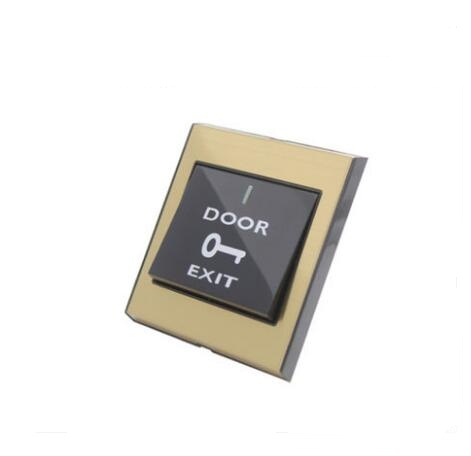 metal panel NO Exit Button Exit Switch For Door Access Control System Door Push Exit Door Release Button Switch