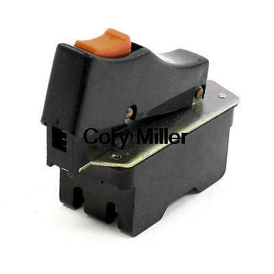 Cut off Machine Trigger Switch 12A AC 250V FA4-12/2DB1 for Bosch 355 10pcs kcd1 101 ac 6a 250v 2 pin on off i o spst snap in mini black button boat rocker switch 15 21mm