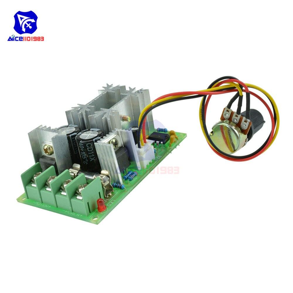 motor speed regulator DC 6-60V power drive module PWM Motor speed controller 20A