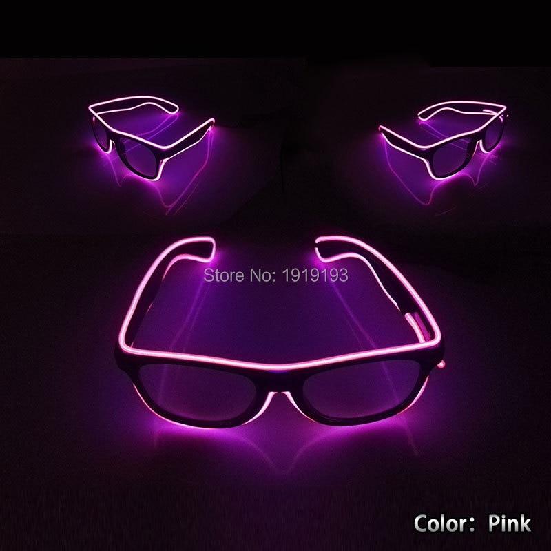 10 Boja Odaberite Nova moda DIY LED odijela EL žice svjetlo gore - Rasvjeta za odmor - Foto 4