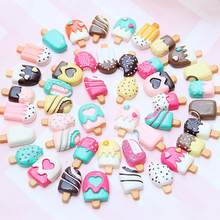 100 Pieces Slime Charms Mixed Resin Cake Animal Slime Beads Making Supplies for DIY Scrapbooking Crafts(China)