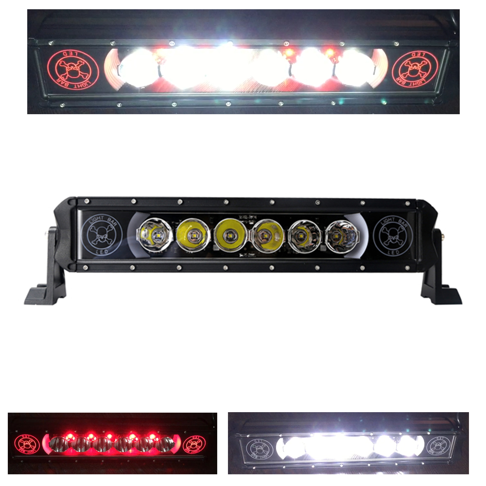 New 12V 60W LED Light Bar for Work Indicators Driving Offroad Boat Car Tractor Truck 4x4 SUV ATV super bright CREE-chip 6000K 14 120w offroad led light bar atv yacht boat truck trailer tractor car suv 4wd 4x4 camping work lamp 12v 24v auto headlight