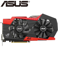 ASUS Video Card Original GTX 760 2GB 256Bit GDDR5 Graphics Cards For NVIDIA VGA Cards Geforce
