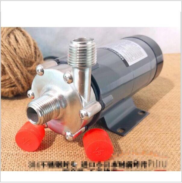 304 inoxydable tête Magnétique Pompe 15R, Homebrew, Qualité Alimentaire Haute Température Résistant À 140C bière Pompe À Entraînement Magnétique Home Brew