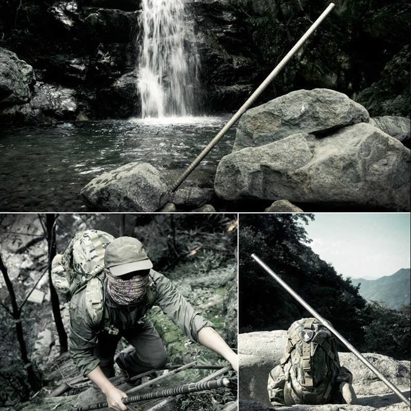 FREE SOLDIER Палка Мосин Палка Жуи Цзиньгу  Многофункциональный спасательный инструмент  лагерная пустынная защитная длиная палка Высшая версия Золотой цвет