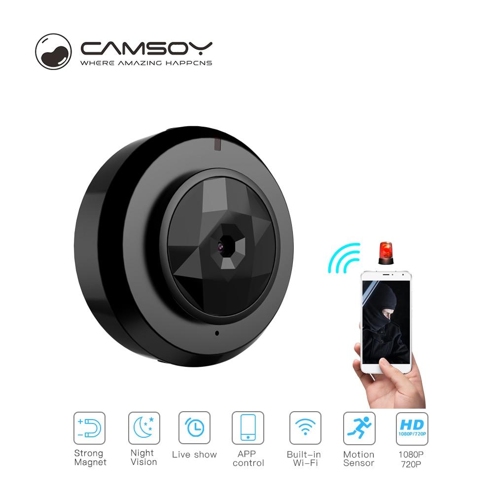 Camsoy C6 Full HD 720P Mini Wireless Camera Outdoor Action Micro Digital WiFi Camera IP Night Vision Cam