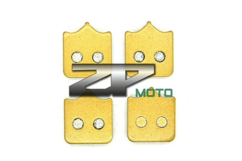 NAO Brake Pads For TRIUMPH Speedtriple 1050cc Radial font b caliper b font 2008 2013 Front