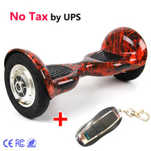 CE/FCC 2 wheel Self balance Electric scooter 700W+4400mA with remote 10inch Hoverboard Unicycle Skateboard Standing Drift Board