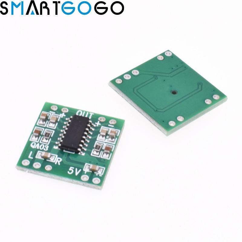 PAM8403 DC 5V Mini Class D 2x3W USB Digital Power Power Amplifier Board DIY Bluetooth Speaker
