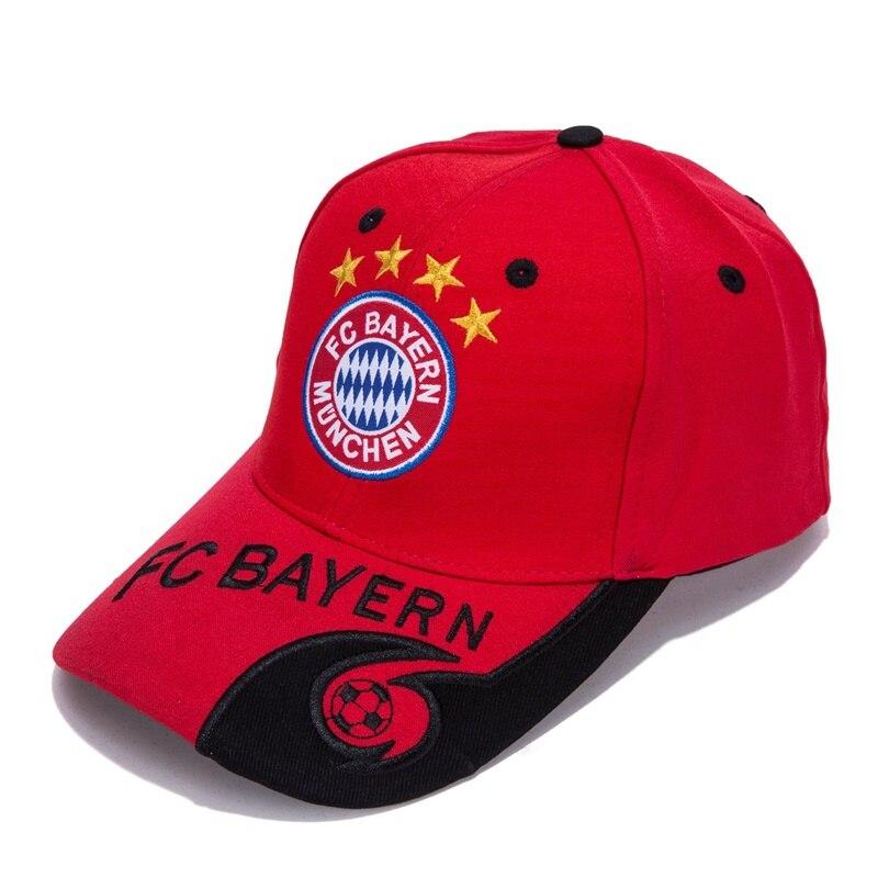 World Football/Soccer Team Embroidered Adjustable Outdooors Style Snapback   Baseball     Cap   For Bayern New Season Color