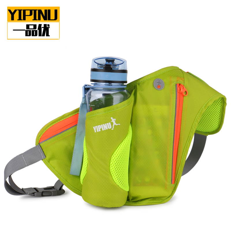 Yipinu Portable running kettle pocket men and women sports bag riding mountain climbing mobilephone purse outdoor running outfit