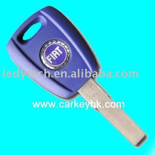 High quality Fiat transponder key with T5 chip