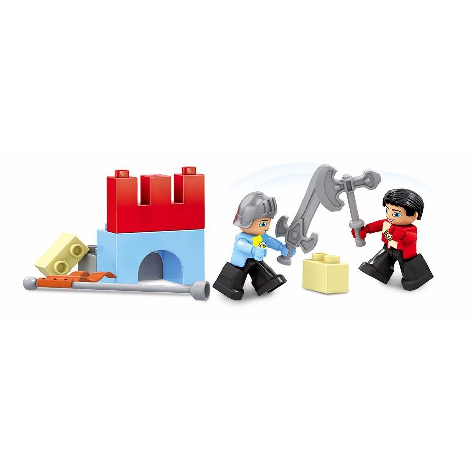 58pcs velika veličina dvorac carstvo nexo vitezovi građevni blokovi - Izgradnja igračke - Foto 3