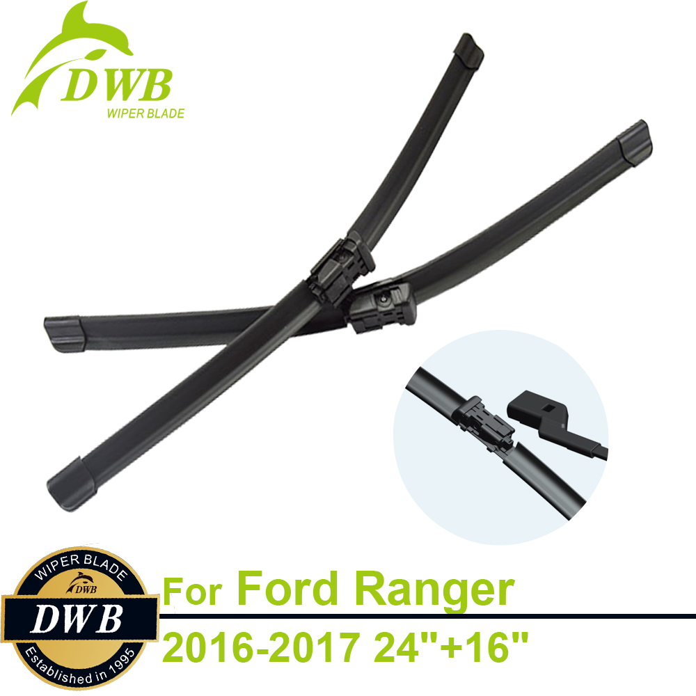Wiper blades for ford ranger 2016 2017 24 16 2pcs free