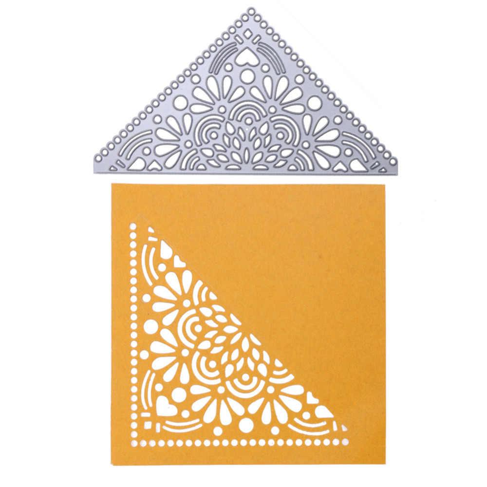 Corner Metal DIY Cutting Die Stencil Scrapbook Album Paper Card Embossing CraftW